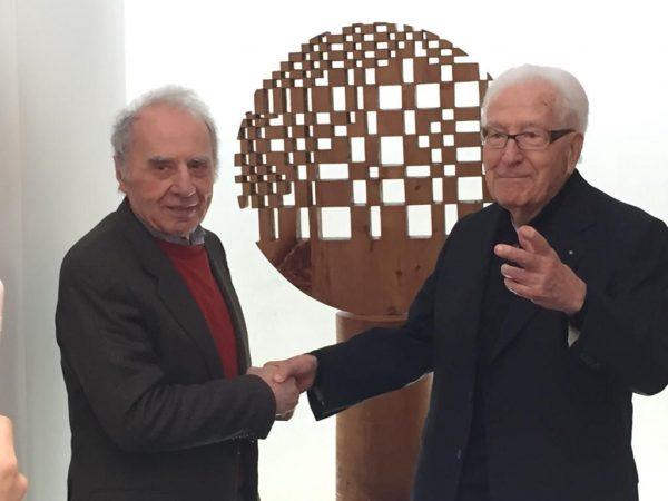 L'incontro tra Giuseppe Rivadossi e Marino Golinelli come occasione per parlare di futuro