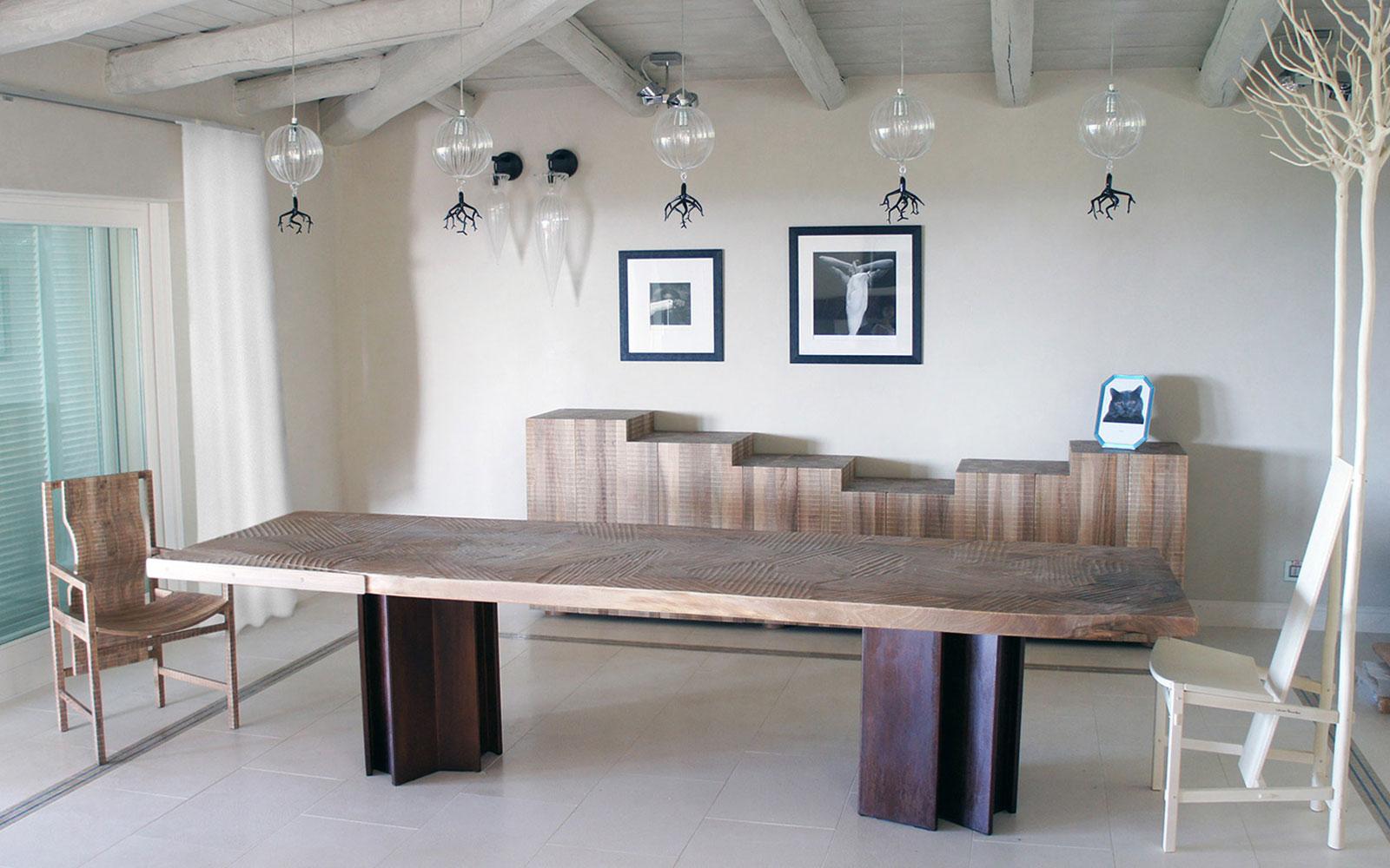 Tavolo Villa Privata Cucine Habito