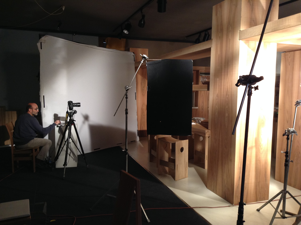 Habito Catalogue 2015 Work in Progress. Wood kitchen set (4)