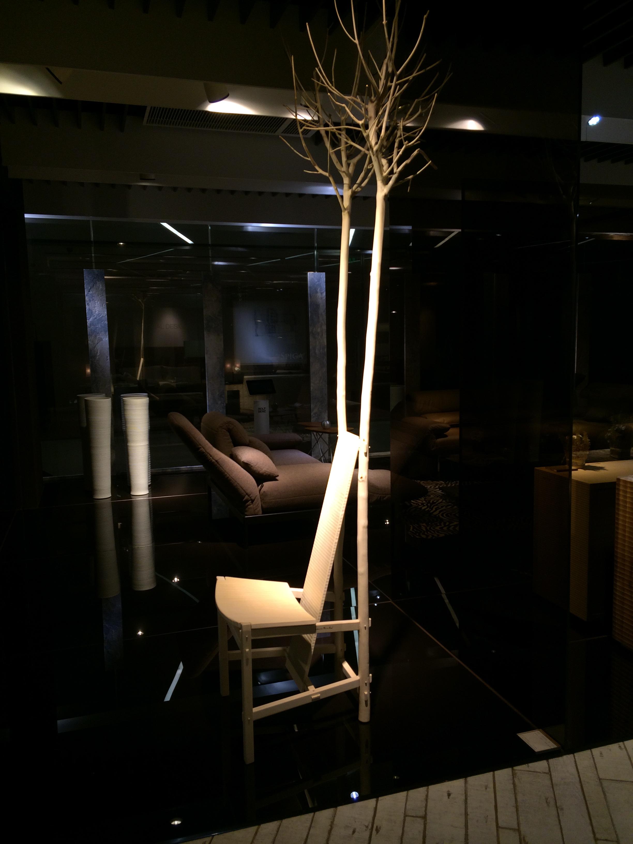 Sedia Fiorita | GIUSEPPE RIVADOSSI Showroom, Shanghai