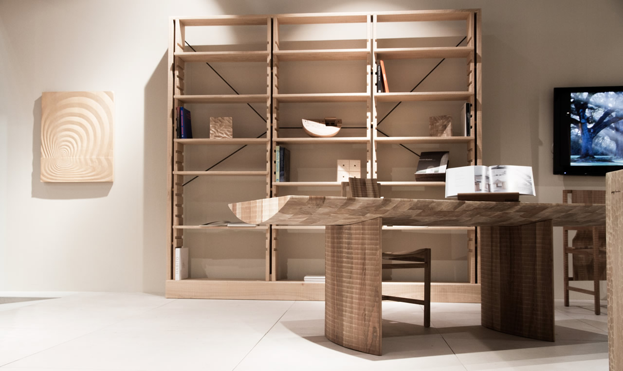 Libreria Chiaravalle (bookcase) - Salone del Mobile di Milano (Milan Furniture Fair) 2016