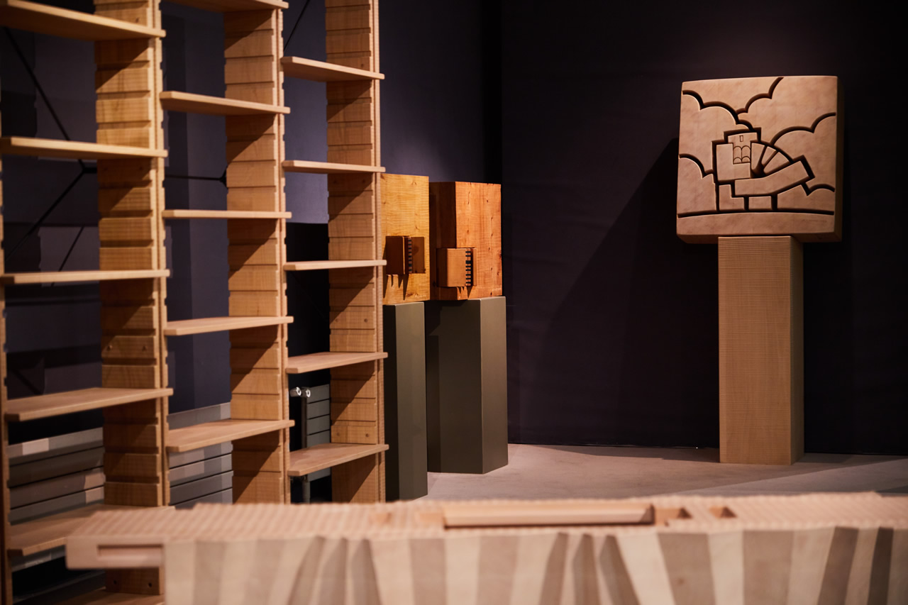 Nature & Architecture, Espace Tajan, Parigi - Opere di Giuseppe Rivadossi