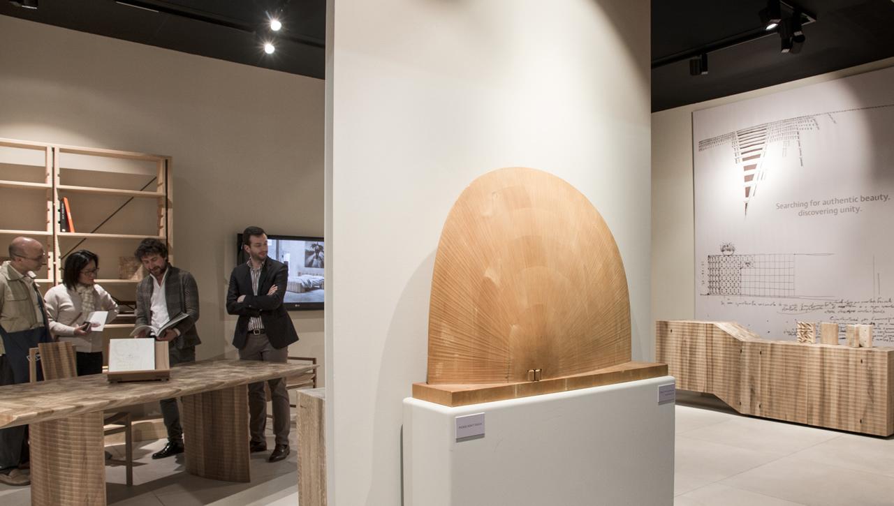 Opera di Giuseppe Rivadossi - Salone del Mobile di Milano (Milan Furniture Fair) - 2016
