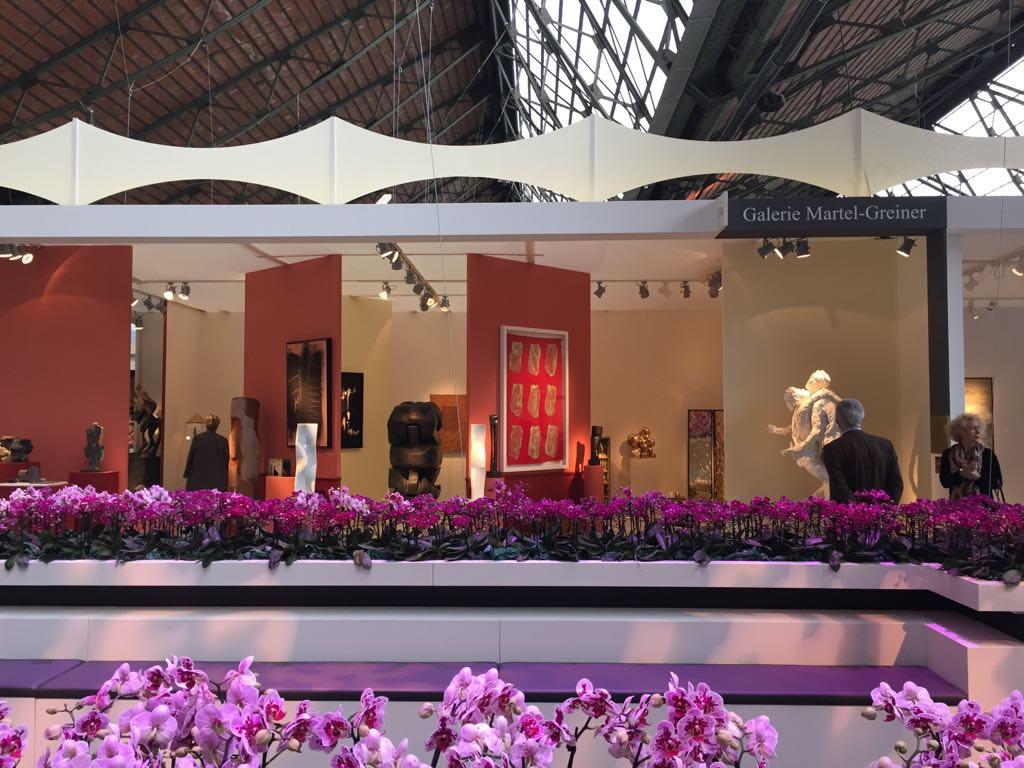 Stand della Galleria Martel-Greineral al BRAFA Art Fair 2018 (Bruxelles)