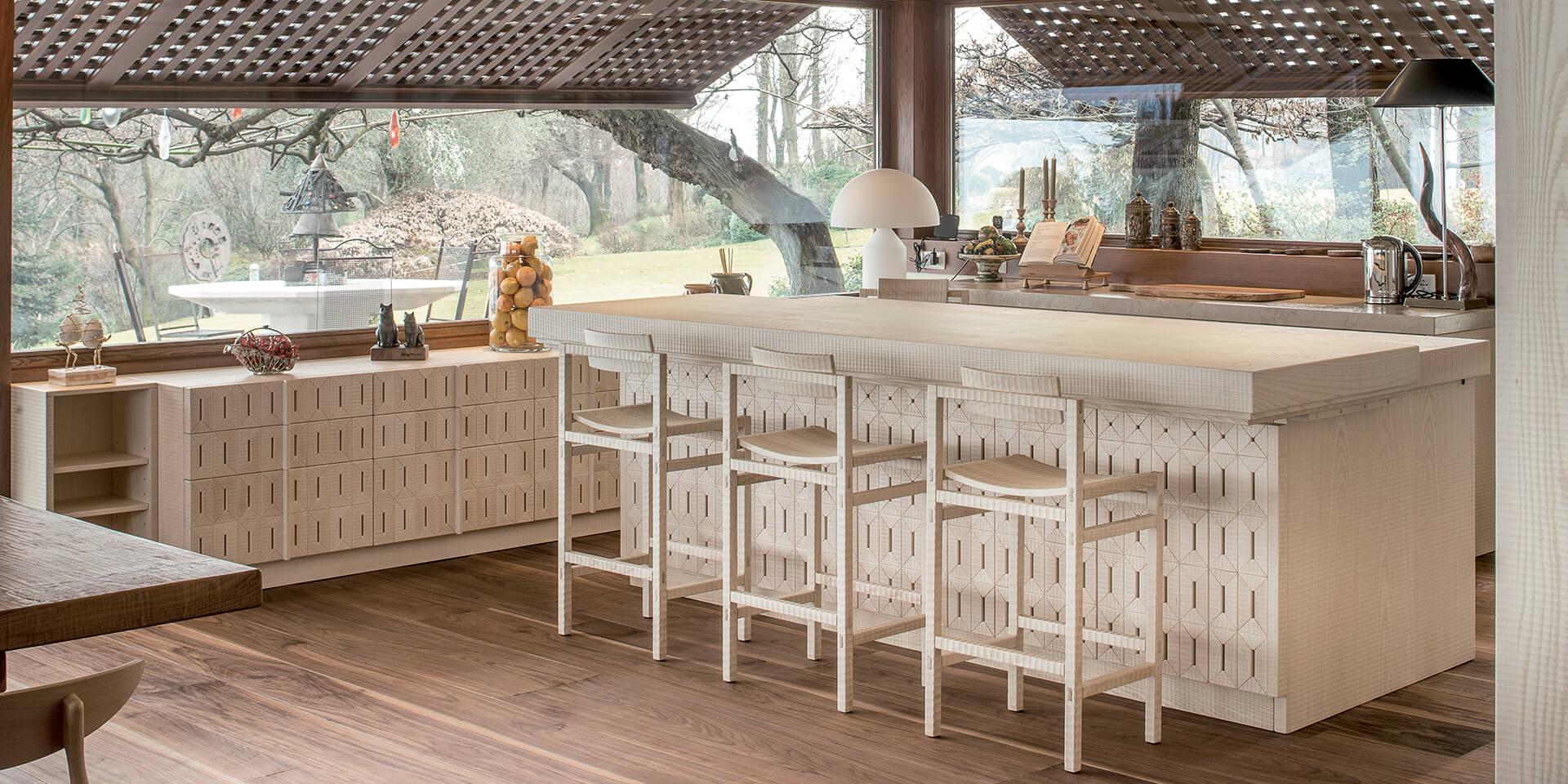 Cucina in legno Cucine Habito