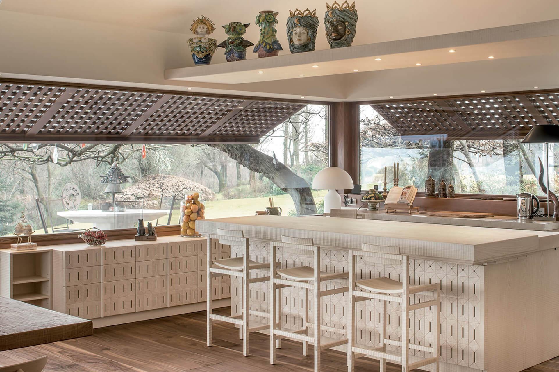 Cucine design lusso falegnameria produttrice di cucine artiglianali di lusso - Cucine di qualita ...