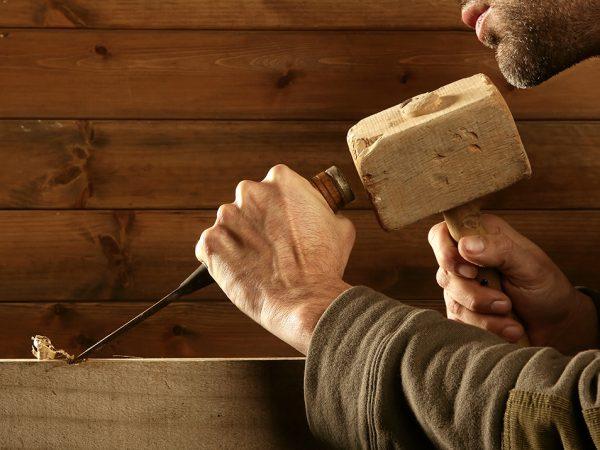 Il legno, la materia preferita di Habito