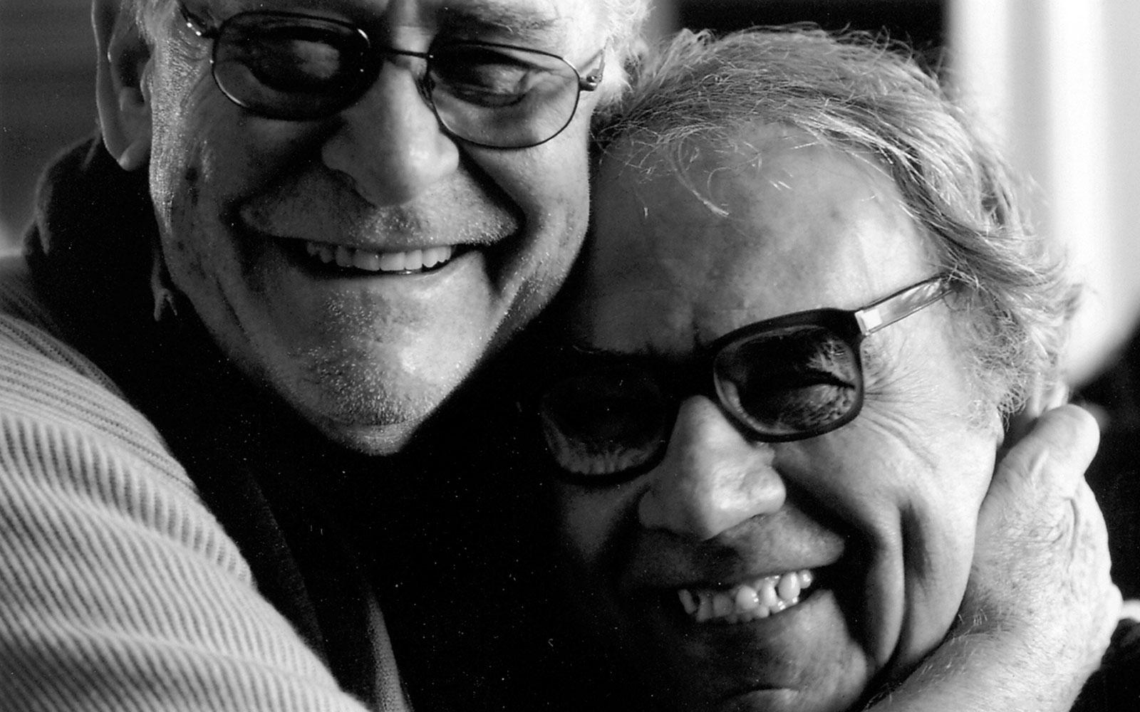 Giuseppe con il regista Olmi Rivadossi Habito