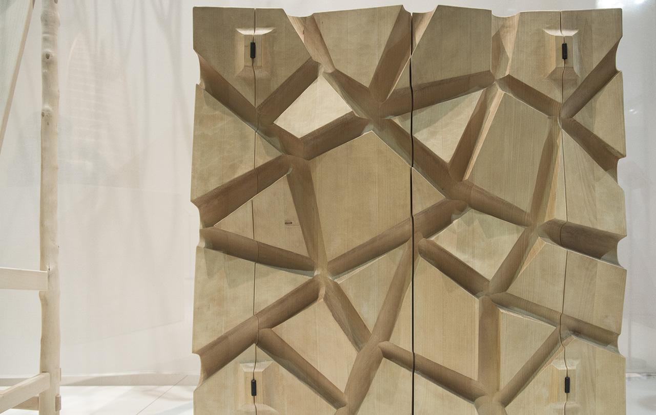 Particolare mobile in legno