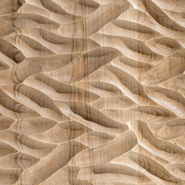 Scavo a sgorbia texture wind spirit Finitura Habito