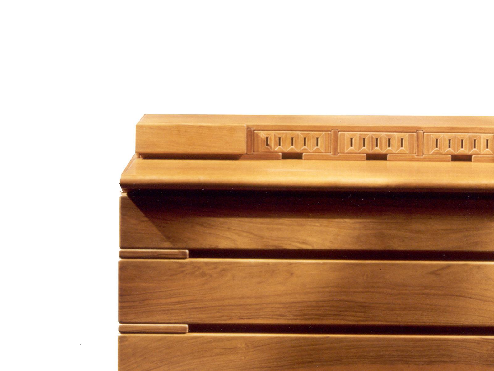 Art g letto contenitore color noce art prestige u luxury