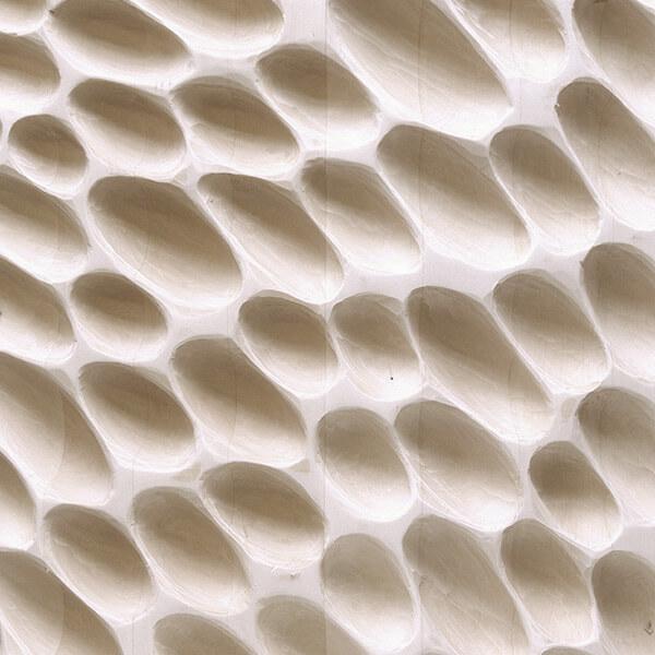 Taglio di sgorbia texture campiture Finitura Habito
