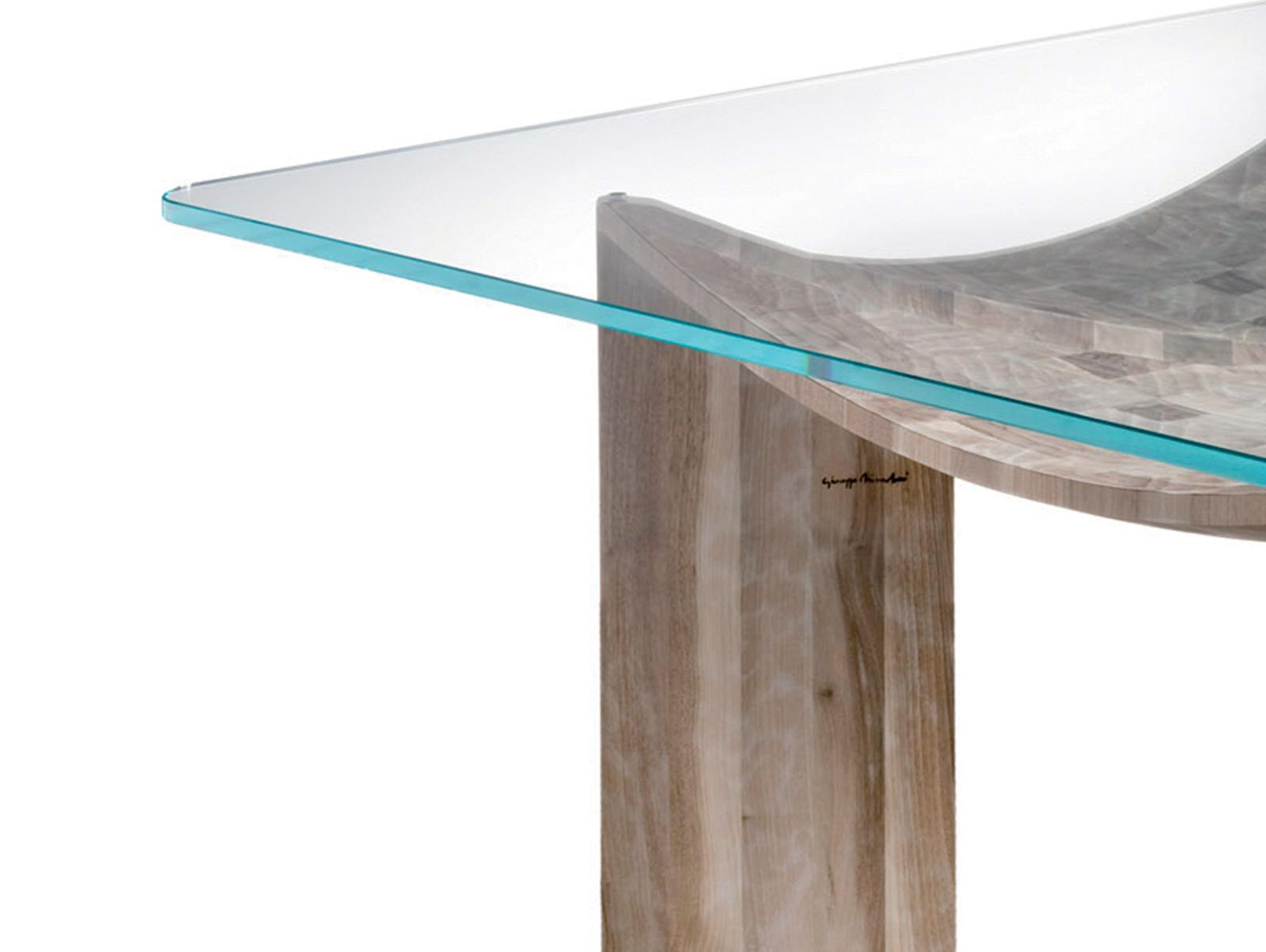 Tavoli e scrivanie in noce nazionale tavolo vela for Tavolo legno noce nazionale